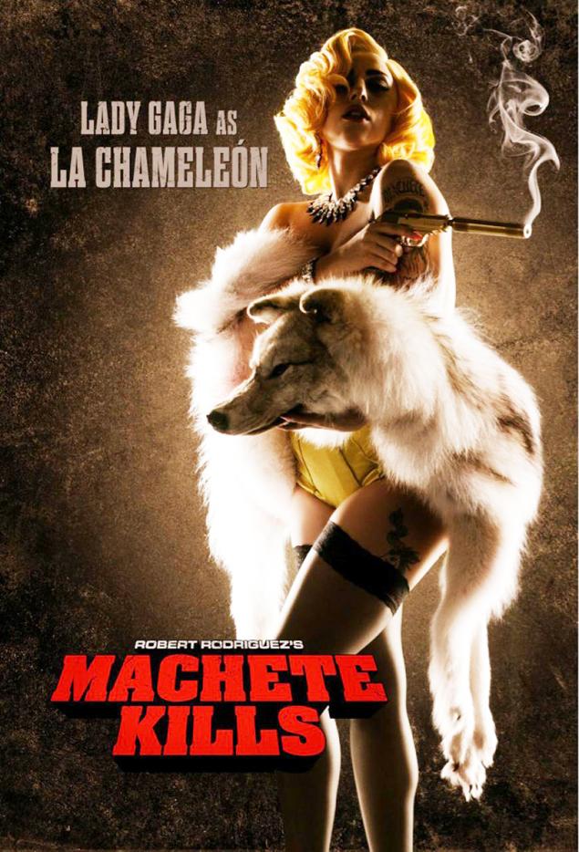 cartel lady gaga machete