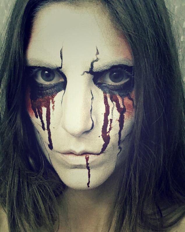 DIY Un maquillaje de muerte para Halloween Belleza Maquillaje