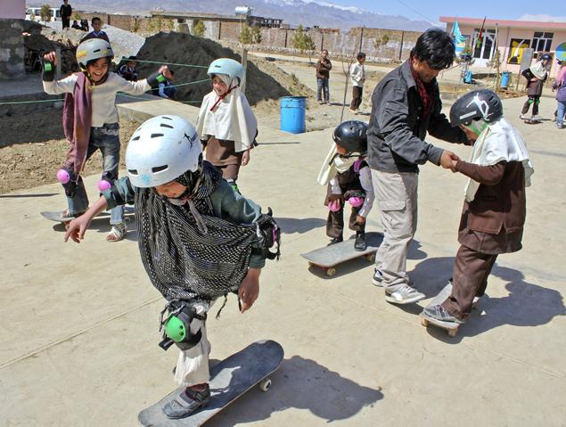 Kabul Skateistan