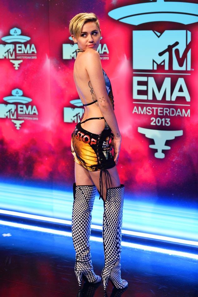 Miley Cyrus EMA MTV