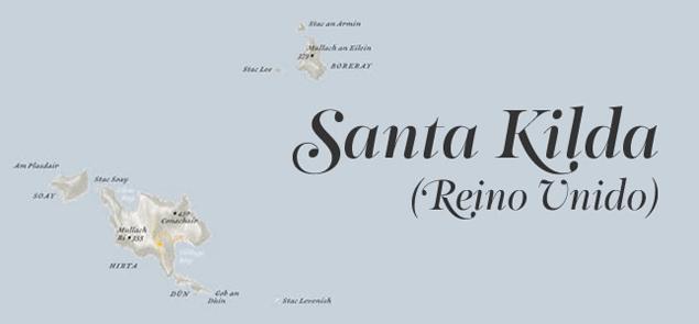 Santa Kilda Islas Remotas