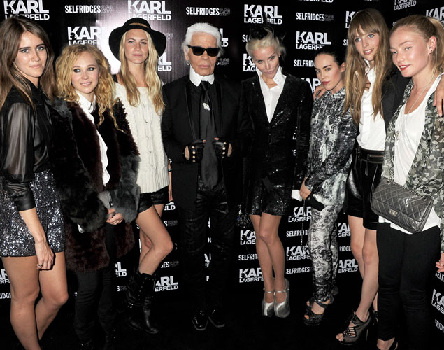 Las chicas de Karl