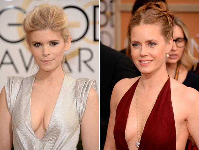 Duelo de escotes de infarto: ¿Amy Adams o Kate Mara?