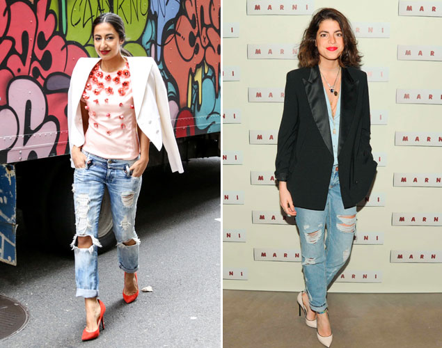Nausheen Shah y Leandra Medine