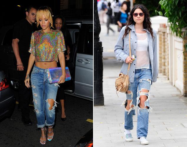 Rihanna y Eliza Doolittle