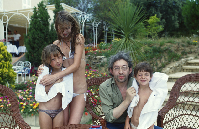 familia Gainsbourg birkin