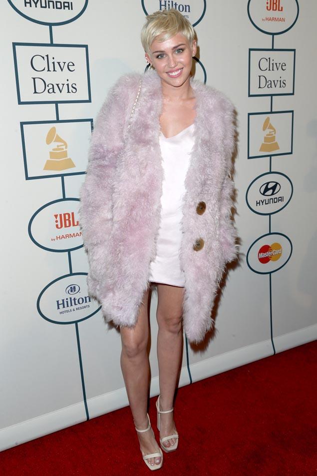 Miley Cyrus Pre Grammy