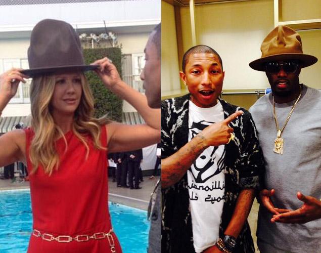 famosos sombrero Pharrell