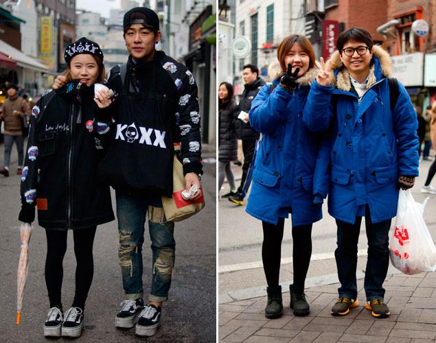 Parejas visten igual Seul