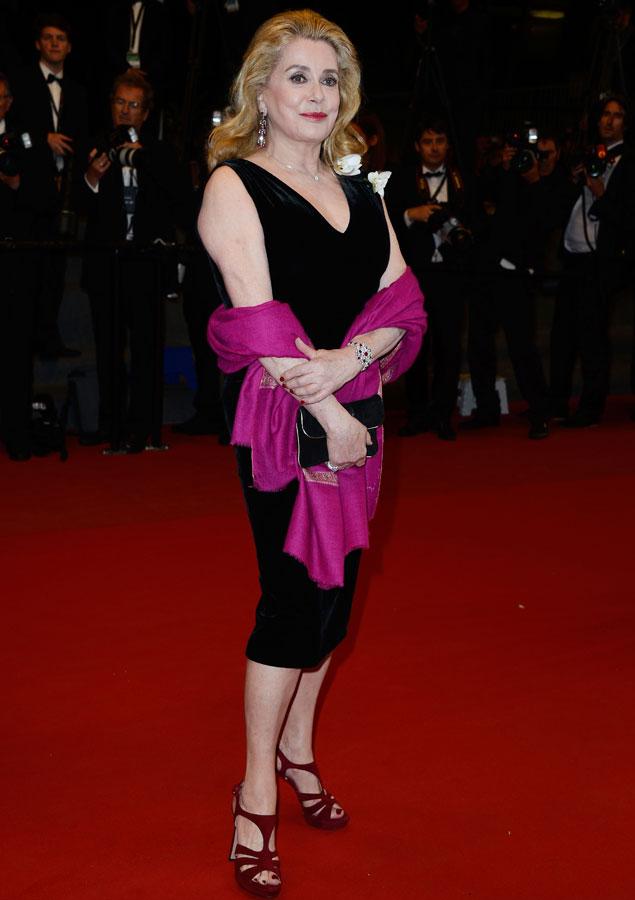 Catherine alfombra roja