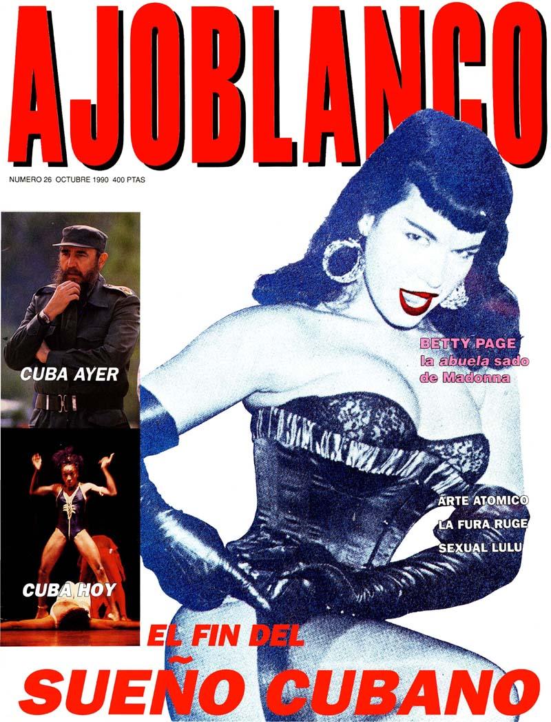 Las mejores portadas de 'Ajoblanco'