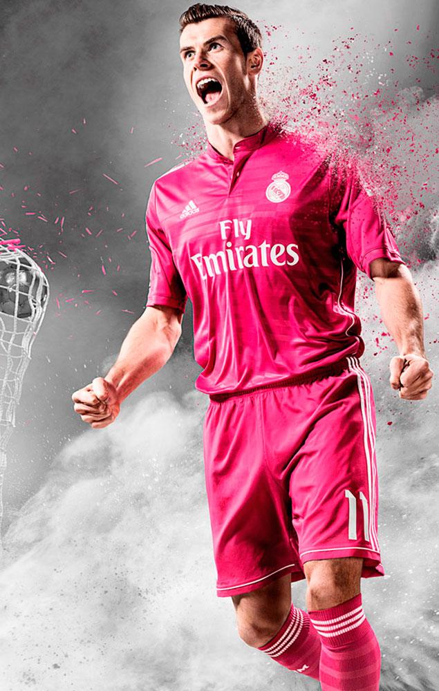 28bbe808849a9 La camiseta rosa del Madrid y otras equipaciones polémicas ...