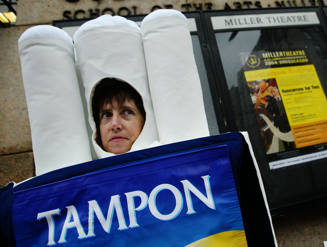 cover tampon
