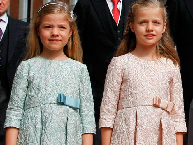 Todas las imágenes de la princesa Leonor y la infanta Sofía
