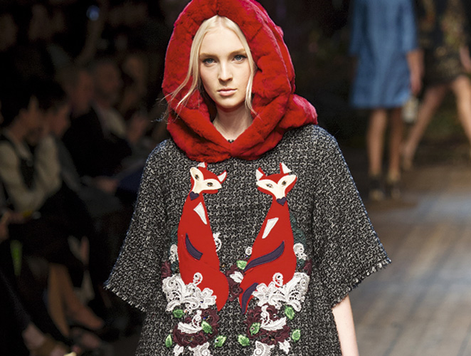 La moda es un mundo de zorros