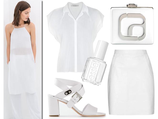 Más de 100 maneras de vestir (de pies a cabeza) de blanco
