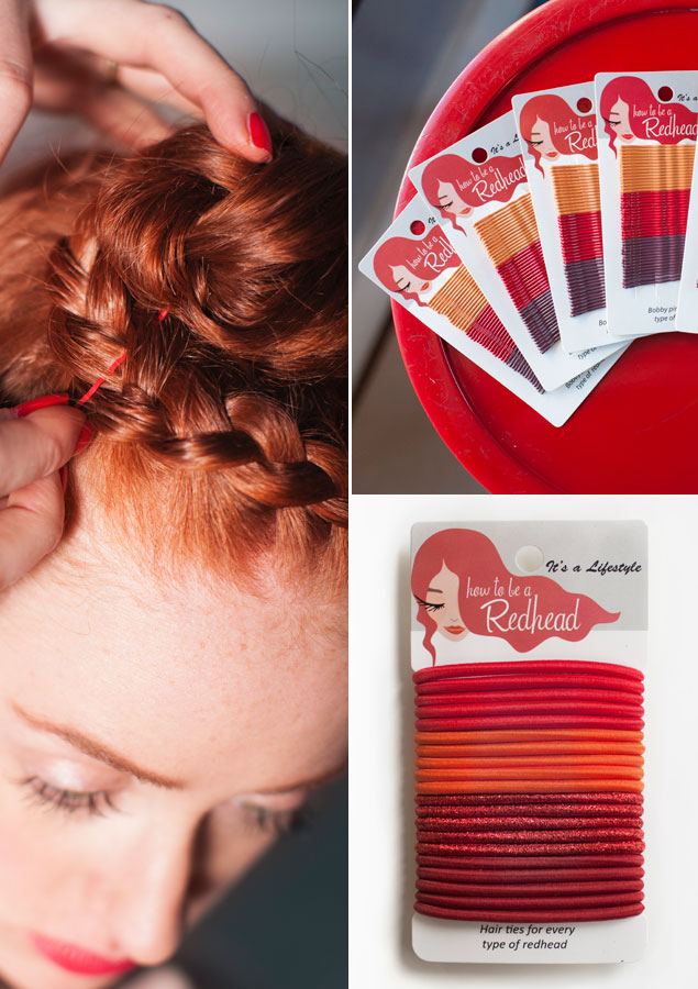 Accesorios pelo How to be a Redhead