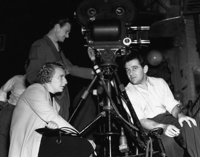 Lillian Hellman y William Wyler