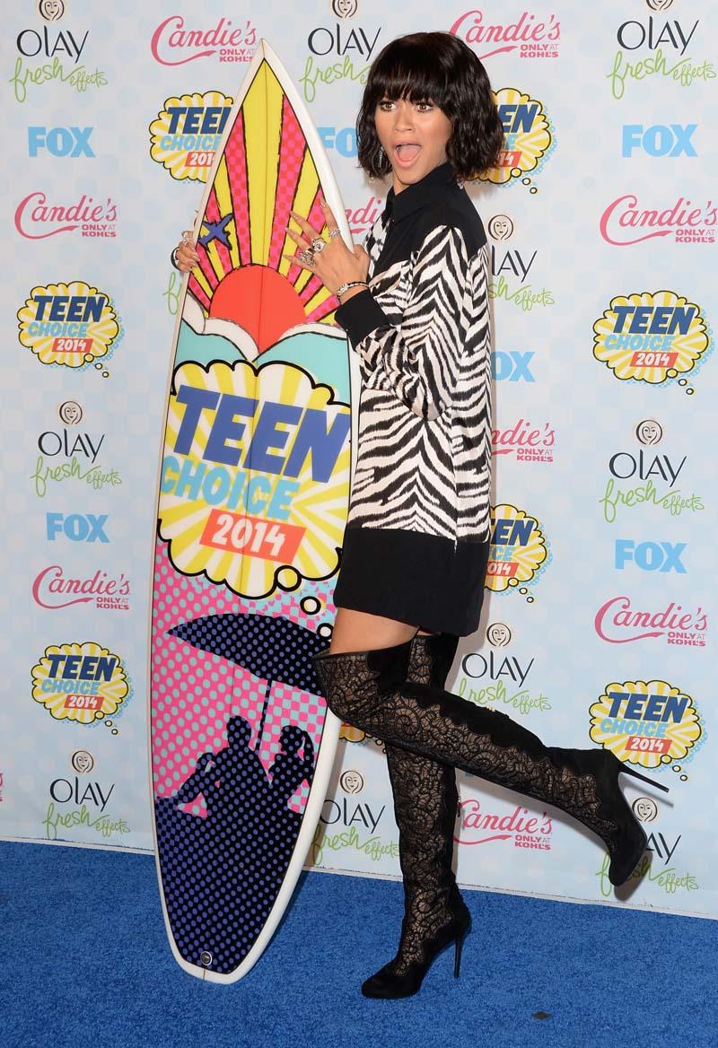 todos los looks de los teen choice awards 2014