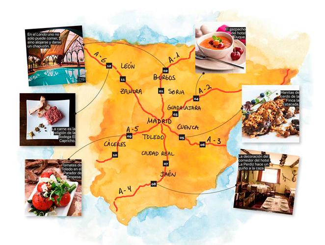 Guía de los mejores restaurantes de carretera de España