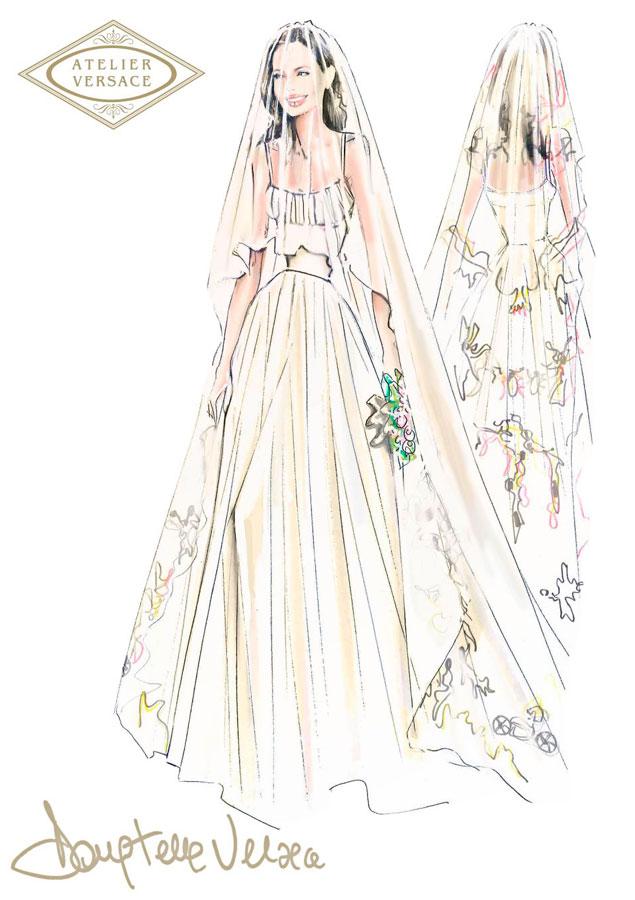 Los garabatos del vestido de Angelina, ¿coincidencia o copia ...