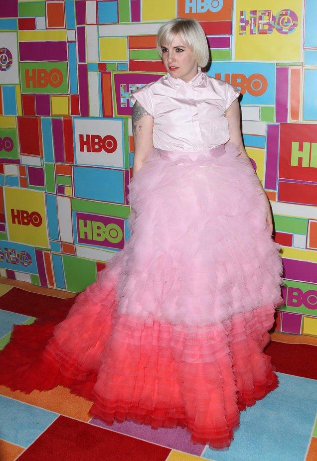 Lena Dunham: es posible amar la moda sin tomársela en serio