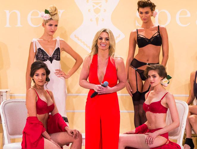 Britney Spears: de profesión, diseñadora de lencería
