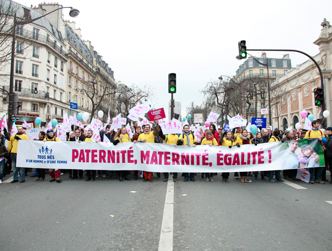 Derechos familiares Francia