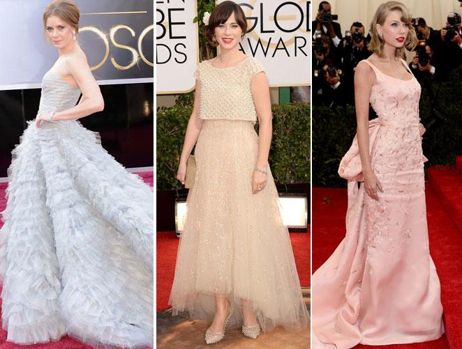 Todas quieren vestir de Óscar de la Renta