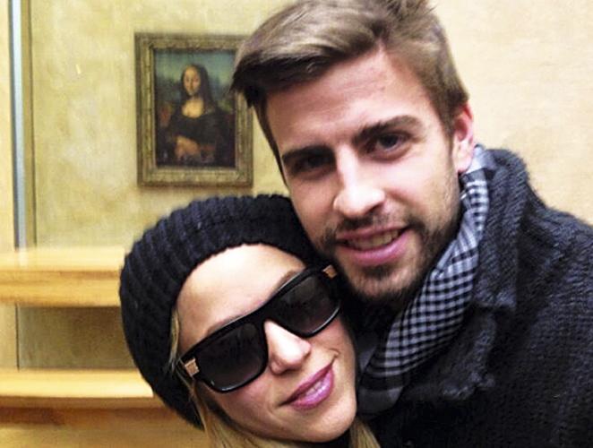 Selfie Shakira y Piqué