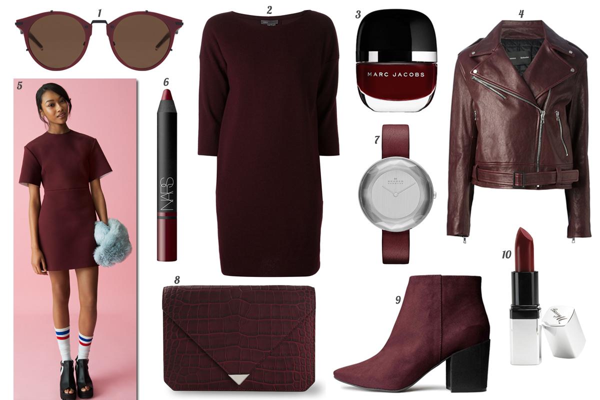 Más De 140 Formas De Vestir De Burdeos Moda Shopping S