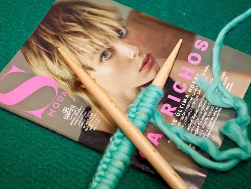 asi fue la knitting party de s moda y we are knitters