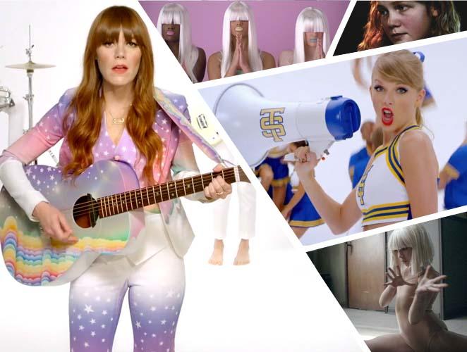 10 videoclips para entender el pop femenino en 2014