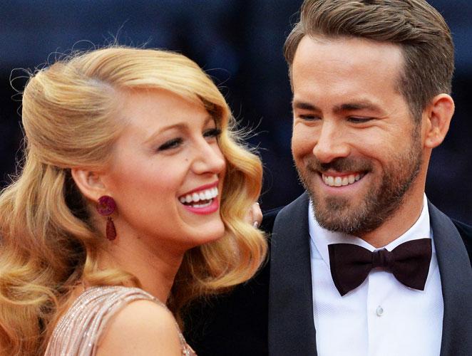 Blake Lively y Ryan Reynolds, padres de una niña