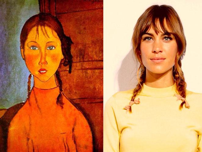 Las españolas que transforman a Alexa Chung en obra de arte