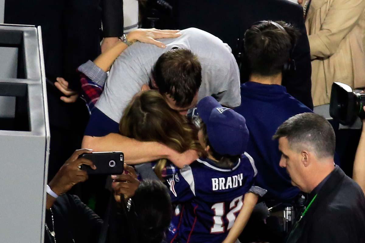 Brady Bündchen en la Super Bowl