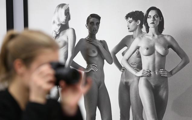 Expo Helmut Newton