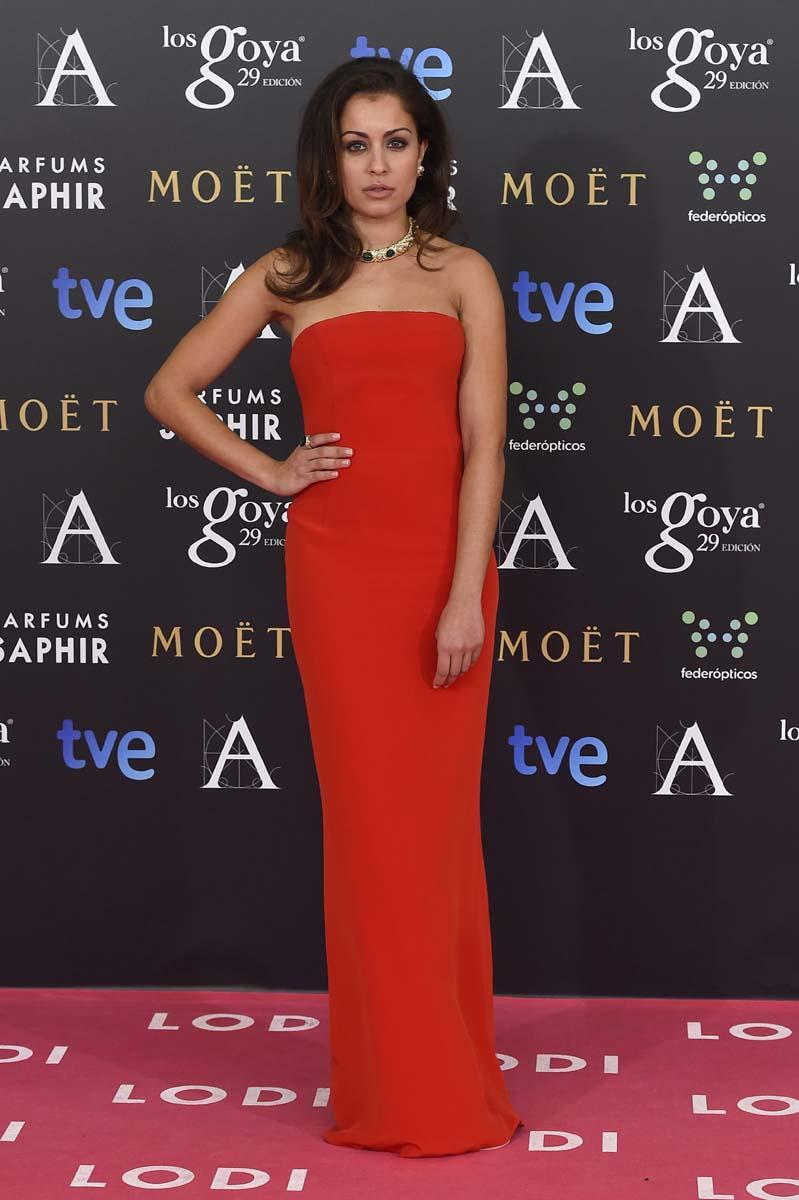 vestidos goya 2015 alfombra roja