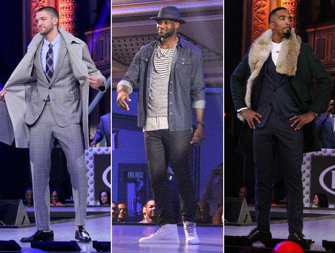 cover primer desfile de la historia de la NBA LeBron James