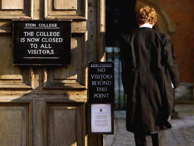Eton College, una insaciable factoría de niños bien