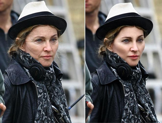 Madonna retoque