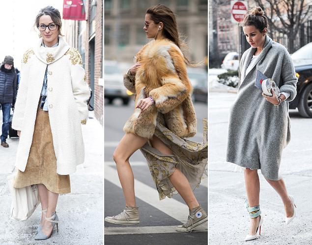 Street Style Nueva York sin medias