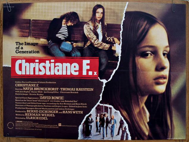 christiane f peliculas