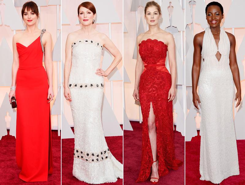 La alfombra roja de los Oscar 2015