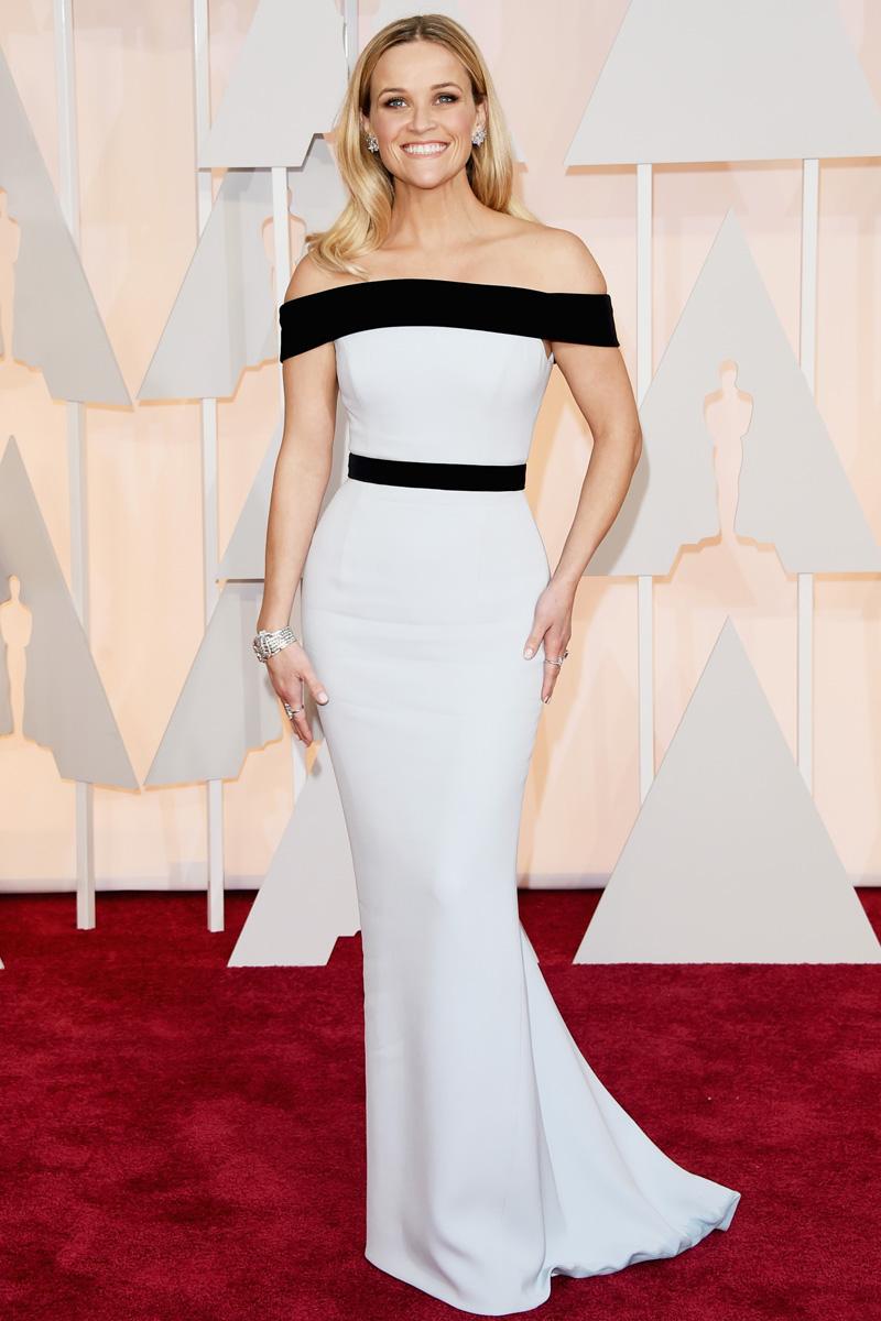 Resultado de imagen de Reese Witherspoon en los premios Oscar 2015