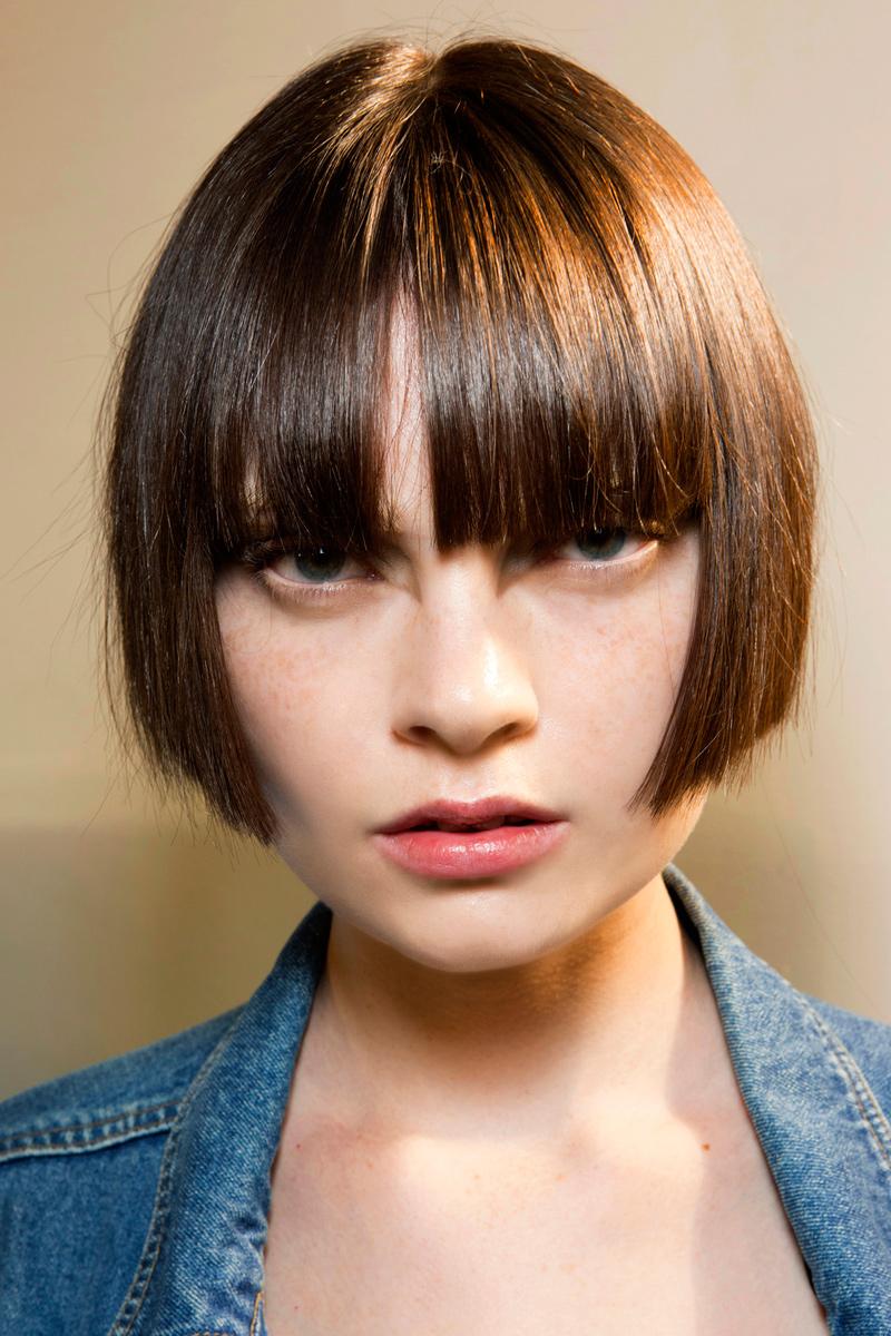 Corte de cabello de nina bonita