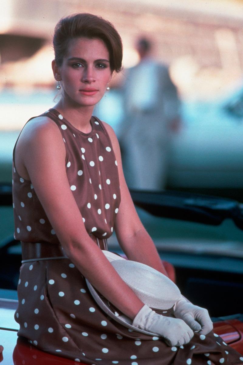 vestido de lunares Pretty woman Julia Roberts