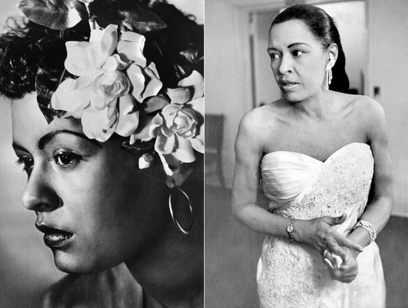 Billie Holiday cantante jazz