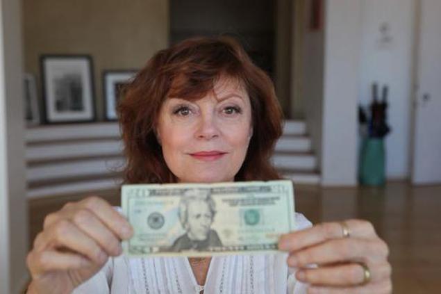 """Susan Sarandon: """"¡Pongamos a una mujer ilustre en el billete de 20 dólares!"""""""