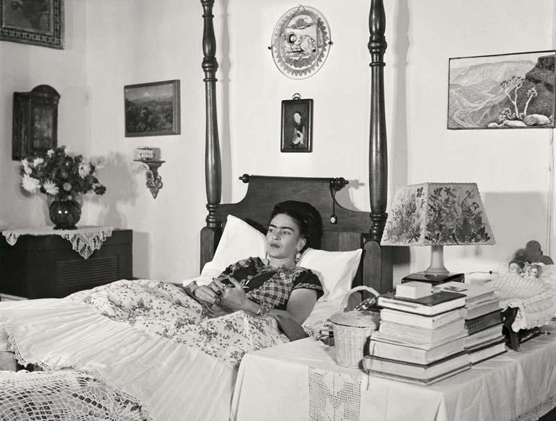 Frida Kahlo fotos casa Mexico Gisele Freund